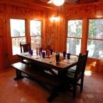 Trailhead Cabin Kitchen Table - Twain Harte