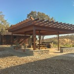 "Outdoor 'Partio"" Patio w/Trellis - Lake Don Pedro"
