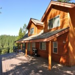Hillside Cabin Deck - Arnold