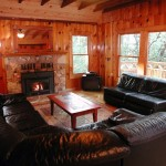 Trailhead Cabin Living Room - Twain Harte