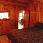 Trailhead Cabin Master Bedroom - Twain Harte