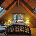 Old Cabin Master Bedroom- Arnold