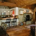 USFS land Cabin Living Room - Dardanelles