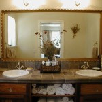 Modern Mountain Victorian His/Hers Bathroom Sinks - Twain Harte