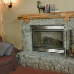 Cedar Ridge Top Country Home Fireplace - Tuolumne County